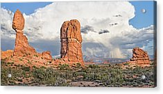Balanced Rock At Arches National Park Acrylic Print