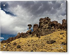 Balanced Rock Idaho Journey Landscape Photography By Kaylyn Franks Acrylic Print