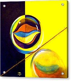 Balancing Act I Acrylic Print