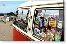 Balboa Bus Acrylic Print