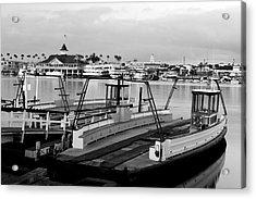 Balboa Ferry Acrylic Print by Eric Foltz