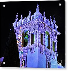 Balboa Park December Nights Celebration Details Acrylic Print by Jasna Gopic