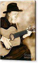 Balboa Park Guitarist Acrylic Print