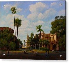 Balboa Park Acrylic Print by Mark Junge