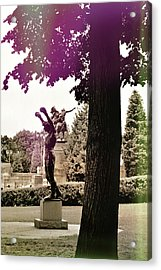 Rocky Balboas Moment Acrylic Print by JAMART Photography