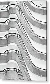 Balconies Acrylic Print