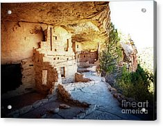 Acrylic Print featuring the photograph Balcony House by Scott Kemper