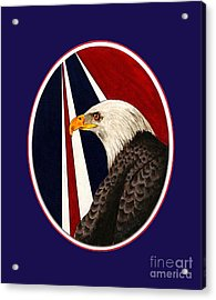 Bald Eagle T-shirt Acrylic Print
