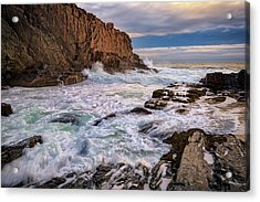 Acrylic Print featuring the photograph Bald Head Cliff by Rick Berk