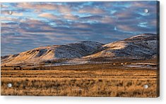 Bald Mountain At Dawn 2 Acrylic Print by The Couso Collection