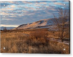 Bald Mountain At Dawn Acrylic Print by The Couso Collection