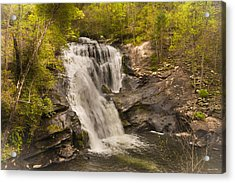 Acrylic Print featuring the photograph Bald River Falls Spring by Rebecca Hiatt