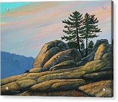 Bald Rock At Sunset Acrylic Print