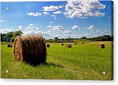 Bales Of Clouds Acrylic Print