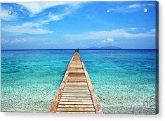 Bali Beach Indonesia Acrylic Print