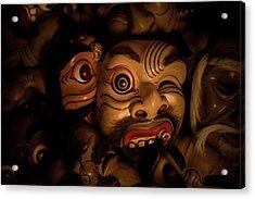 Bali Mask Acrylic Print