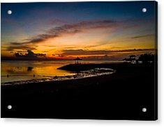 Bali Sunrise I Acrylic Print
