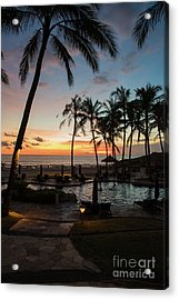 Bali Sunset Acrylic Print