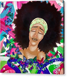 Balinda Acrylic Print