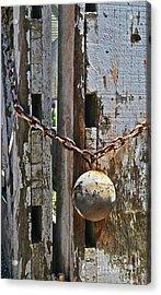 Ball And Chain Acrylic Print