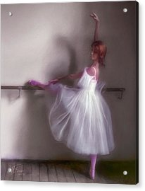 Ballerina-2 Acrylic Print by Juan Carlos Ferro Duque