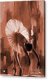 Ballerina 333d Acrylic Print