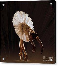 Ballerina 4321o Acrylic Print