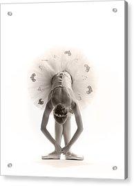 Ballerina Bent Acrylic Print