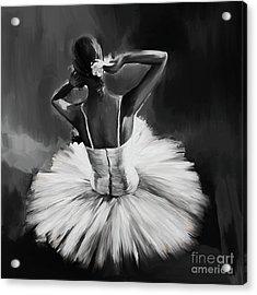 Ballerina Dance 0444a Acrylic Print