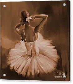 Ballerina Dance 0444c Acrylic Print