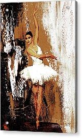 Ballerina Dance 093 Acrylic Print
