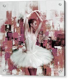 Ballerina Dance Painting 457 Acrylic Print