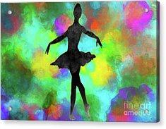 Ballerina Acrylic Print by David Millenheft