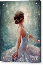 Ballerina Dazzle Acrylic Print by Michael Rock