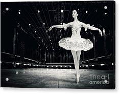 Acrylic Print featuring the photograph Ballerina by Dimitar Hristov
