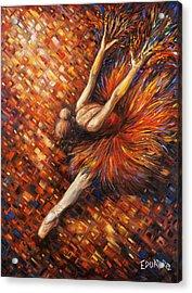 Ballerina Acrylic Print by Eduardo Rodriguez