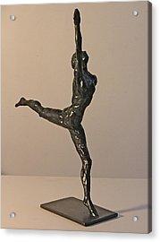 Ballerina Acrylic Print by Gary Kaemmer