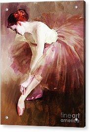 Ballerina Girl  Acrylic Print
