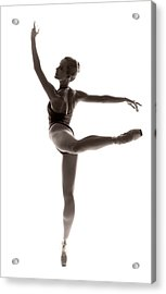Ballerina Grace Acrylic Print by Steve Williams
