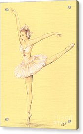 Ballerina II Acrylic Print by Enaile D Siffert