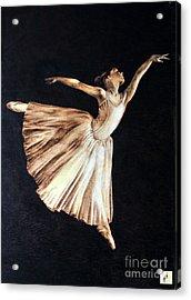 Ballerina Acrylic Print by Ilaria Andreucci