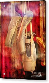 Ballerina Shoes Acrylic Print