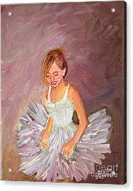 Ballerina  Acrylic Print by Stella Sherman