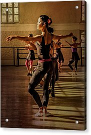 Acrylic Print featuring the photograph Ballerina by Lou Novick