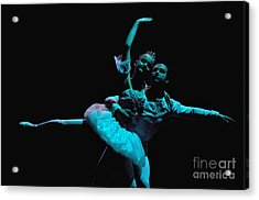 Ballet 1 Acrylic Print by Reb Frost