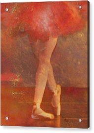 Ballet Dancer Acrylic Print by Catherine Alfidi