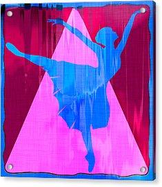 Ballet Dancer Acrylic Print by David G Paul