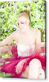 Ballet Dancer Acrylic Print by Jorgo Photography - Wall Art Gallery