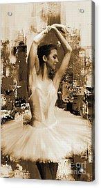 ballet dancer VC45 Acrylic Print