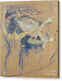 Ballet De Papa Chrysantheme, 1892 Acrylic Print